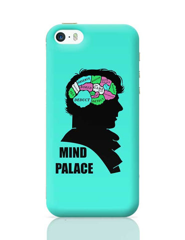Mind Palace Illustration | Sherlock Holmes iPhone 5/5S Covers Cases Online India