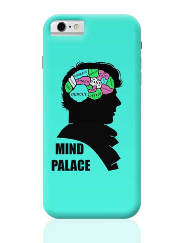 Mind Palace Illustration | Sherlock Holmes iPhone 6 / 6S Covers Cases