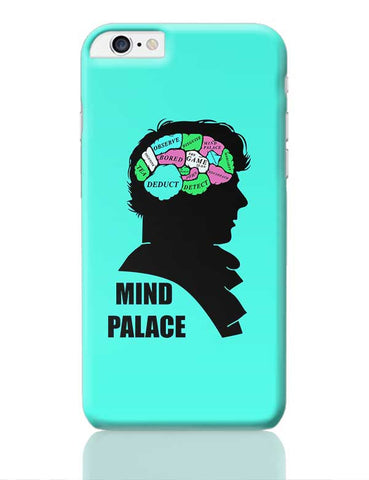 Mind Palace Illustration | Sherlock Holmes iPhone 6 Plus / 6S Plus Covers Cases Online India