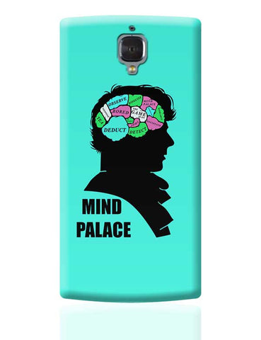 Mind Palace Illustration | Sherlock Holmes OnePlus 3 Covers Cases Online India