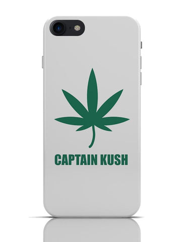 Captain Kush Funny Weed Illustration iPhone 7 Covers Cases Online India