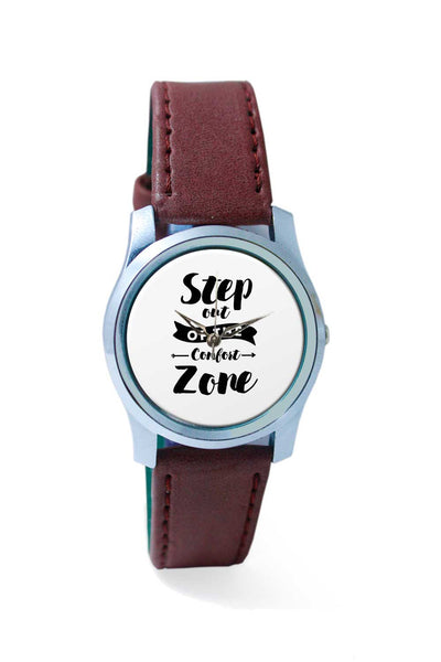 Women Wrist Watch India | Step Out Of The Comfort Zone Wrist Watch Online India