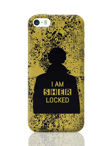 I Am Sherlocked Illustration iPhone 5/5S Covers Cases Online India