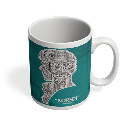 Sherlock Quotes Fan Art Coffee Mug Online India