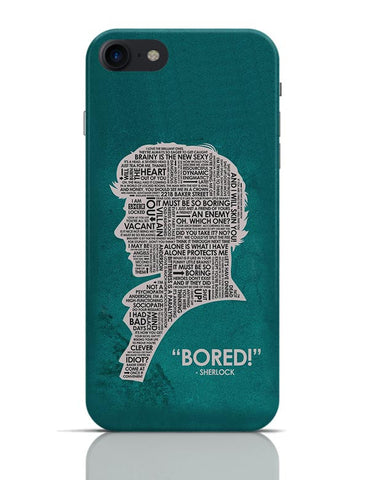 Sherlock Quotes Fan Art iPhone 7 Covers Cases Online India