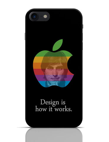 Design is How it Works Steve Jobs iPhone 7 Covers Cases Online India