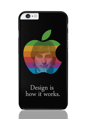 iPhone 6 Plus / 6S Plus Covers & Cases | Design Is How It Works Steve Jobs iPhone 6 Plus / 6S Plus Covers and Cases Online India