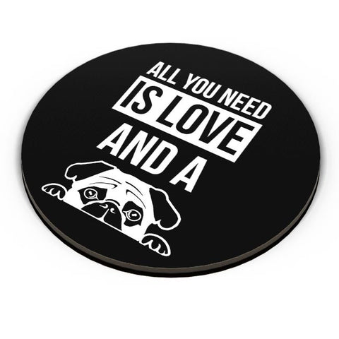 All You Need Is Love And A Pug Fridge Magnet Online India