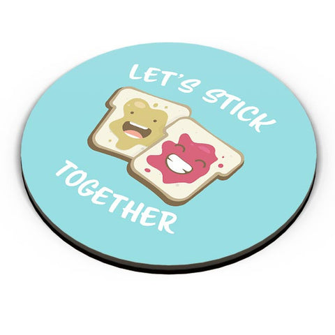 Lets Stick Together | For Him/Her Fridge Magnet Online India