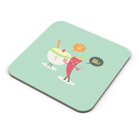 You Are Hot, You'Re Sweet | For Couples Him/Her Coaster Online India