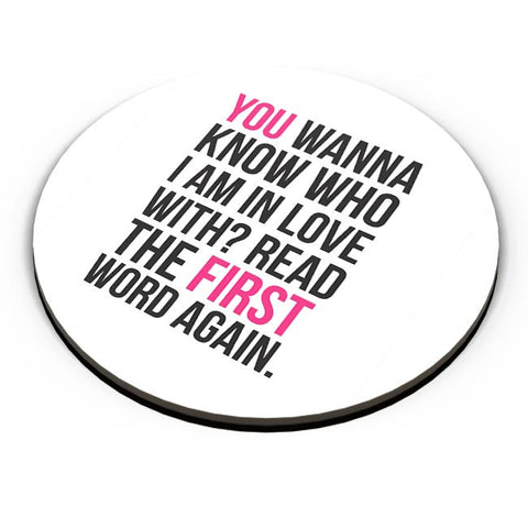 I Am In Love With You | For Couples Him/Her Fridge Magnet Online India