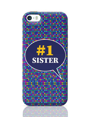 #1sister iPhone 5/5S Covers Cases Online India