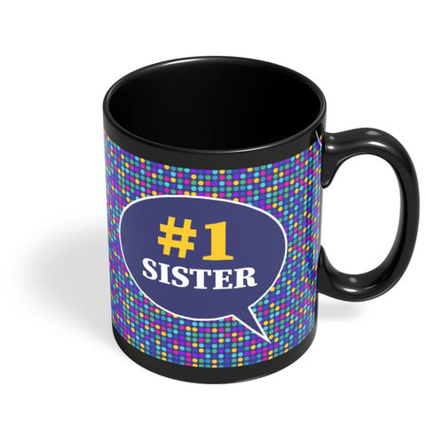 #1sister Black Coffee Mug Online India