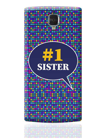 #1sister OnePlus 3 Covers Cases Online India