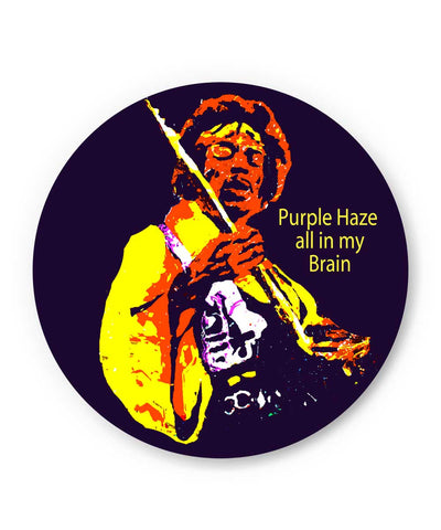 Purple Haze Jimi Hendrix Fridge Magnet Online India
