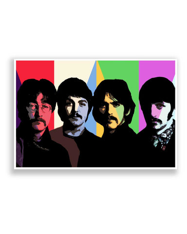 Buy Music Posters Online | Beatles Fan Art Poster | PosterGuy.in