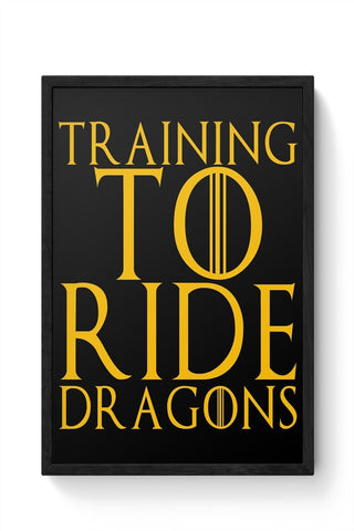 Framed Posters Online India | train to ride dragons Framed Poster Online India