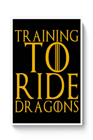 Posters Online | train to ride dragons Poster Online India | Designed by: Harsh Arya