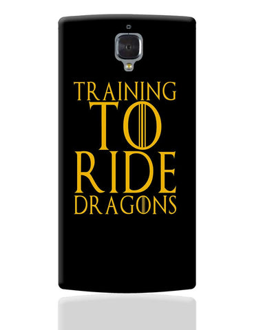 train to ride dragons OnePlus 3 Cover Online India