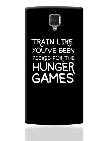 Train for hunger games OnePlus 3 Cover Online India