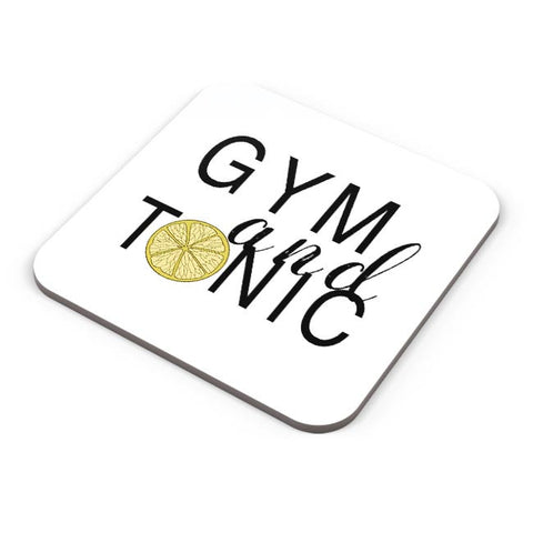 Buy Coasters Online | Gym And Tonic Coasters Online India | PosterGuy.in