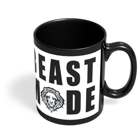 Coffee Mugs Online | beast mode Black Coffee Mug Online India