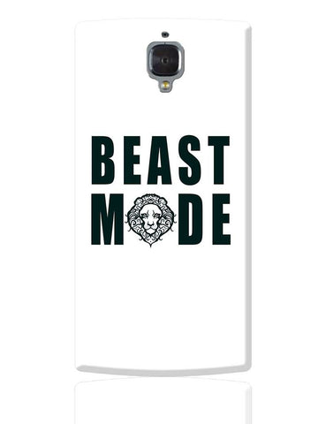 beast mode OnePlus 3 Cover Online India