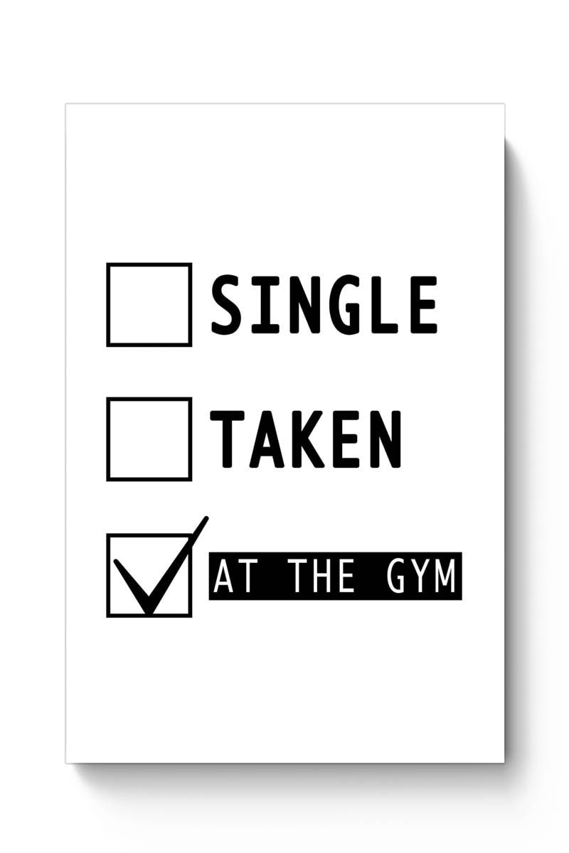 At The Gym | Funny Poster