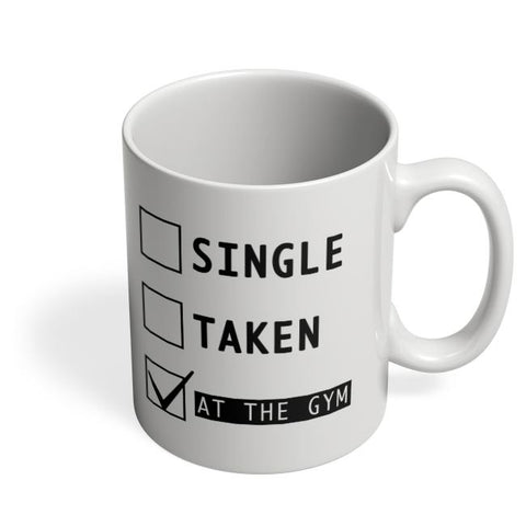 Coffee Mugs Online | At The Gym | Funny Coffee Mug Online India