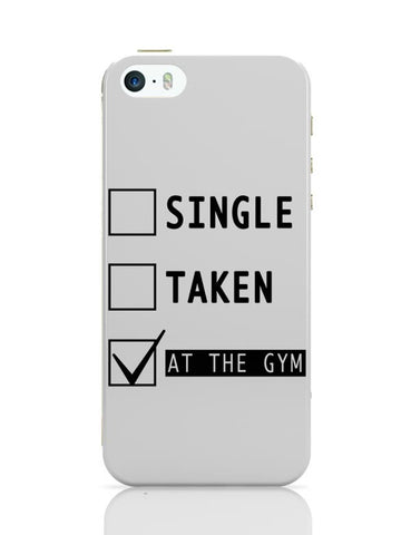 iPhone 5 / 5S Cases & Covers | At The Gym | Funny iPhone 5 / 5S Case Cover Online India