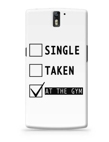 OnePlus One Covers | At The Gym | Funny OnePlus One Case Cover Online India