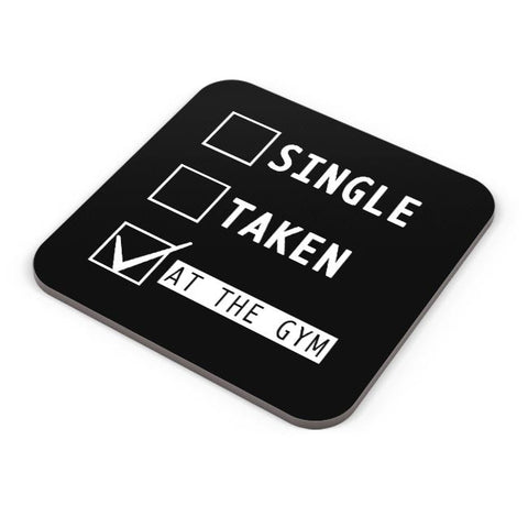 Buy Coasters Online | At The Gym | Funny Coasters Online India | PosterGuy.in