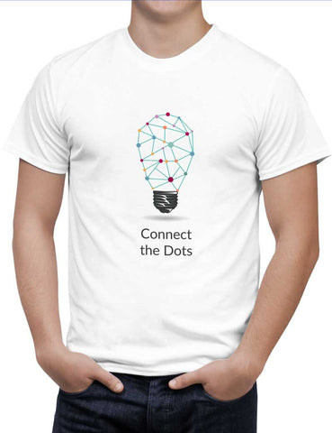 Buy Connect The Dots Woman T-Shirts Online India | Connect The Dots T-Shirt | PosterGuy.in