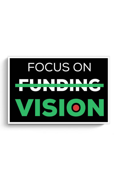 Focus On Vision Poster Online India