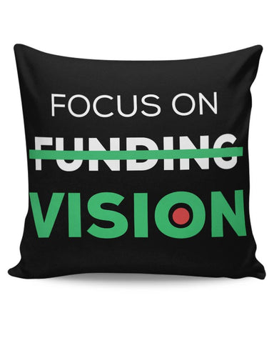 Focus On Vision Cushion Cover Online India