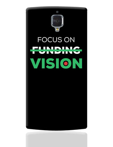 Focus On Vision OnePlus 3 Cover Online India