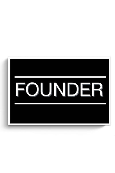Founder Poster Online India