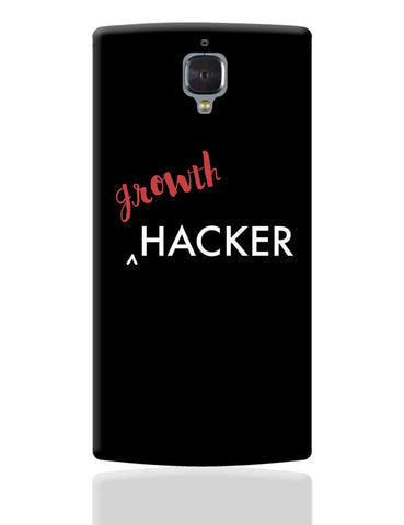 Growth Hacker OnePlus 3 Cover Online India