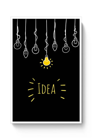 Idea | Motivational Illustration Poster Online India