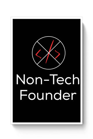 Non - Tech Founder Poster Online India