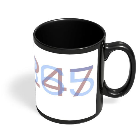 Number Of Workdays In A Startup Black Coffee Mug Online India
