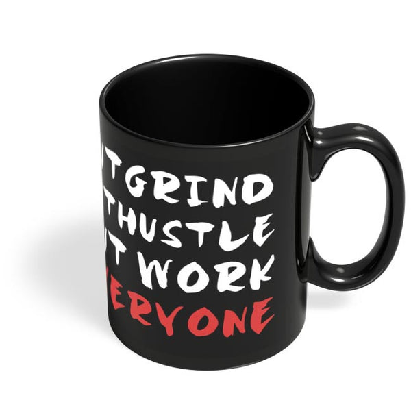 Outwork Everyone Black Coffee Mug Online India