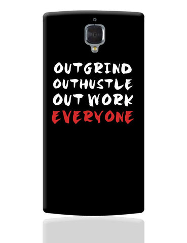 Outwork Everyone OnePlus 3 Cover Online India