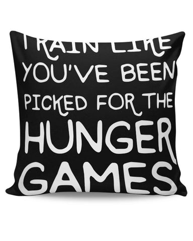 Picked For Hunger Games Cushion Cover Online India