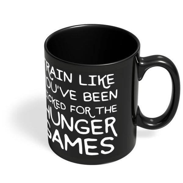 Picked For Hunger Games Black Coffee Mug Online India