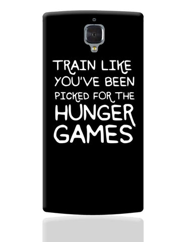 Picked For Hunger Games OnePlus 3 Cover Online India