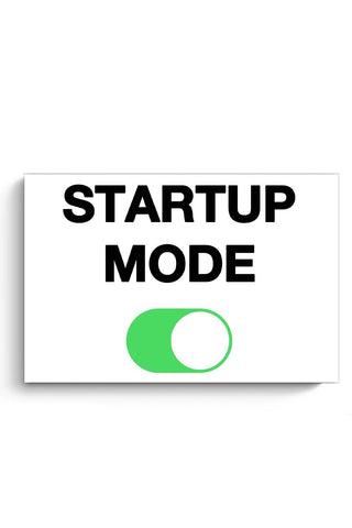 Startup Mode On Poster Online India