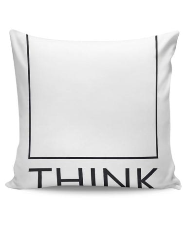 Think Outside The Box Cushion Cover Online India