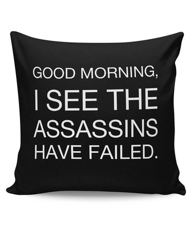 PosterGuy | Good Morning! Funny Cushion Cover Online India