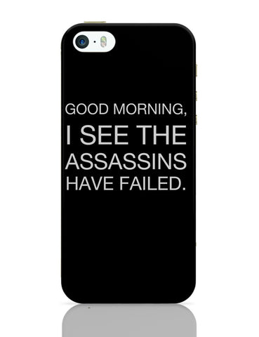 iPhone 5 / 5S Cases & Covers | Good Morning! Funny iPhone 5 / 5S Case Online India